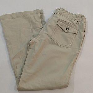 New York & Company Tan Jeans Size 6 Rivets
